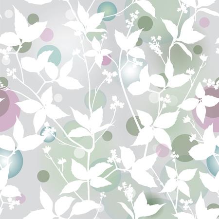 Fond élégant Elegance Seamless floral avec des fleurs d'ornement, illustration vectorielle floral, style vintage Vecteurs