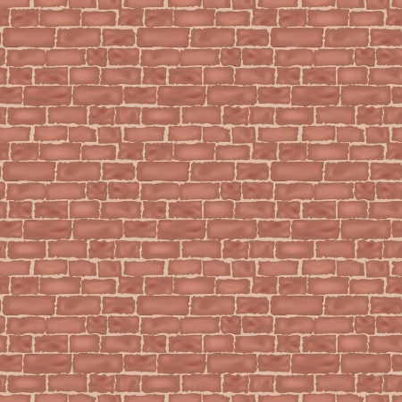 brick wall texture  seamless background   Vector