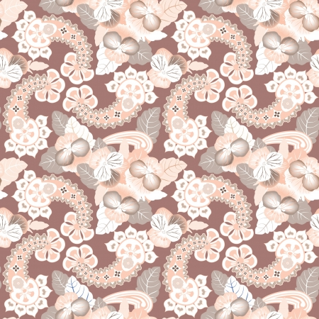 remarkable: Abstract floral seamless pattern  Gentle lightning ornament  Flower background