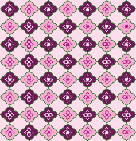 Abstract Geometric Retro Texture   Seamless pattern Stock Vector - 20961569
