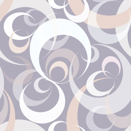 texture fantasy: Abstract gray and white geometric bubble background in 1960s desing style   Illustration