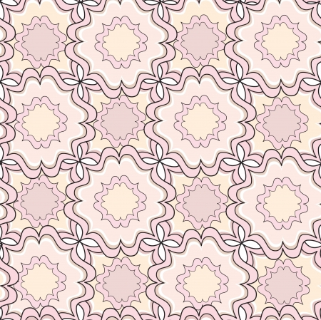Lace seamless texture  Seamless pattern  Floral lightning ornament  Abstract geometric kaleidoscope seamless background   Vector
