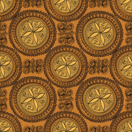 motifs: Abstract Ethnic Seamless Background