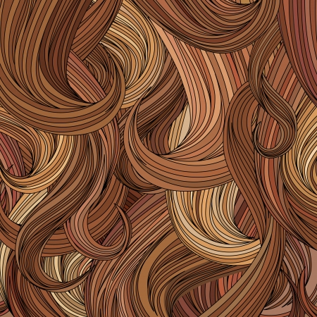 hair curl: Hair background