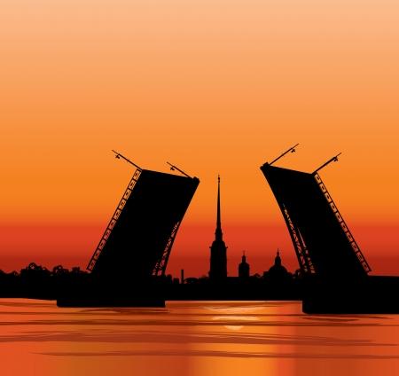 サンクト ・ ペテルブルク ランドマーク ピーターと Paul 大聖堂ロシア都市の景観