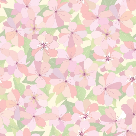 Flower seamless background  Spring floral pattern  Nature texture Stock Vector - 25546080