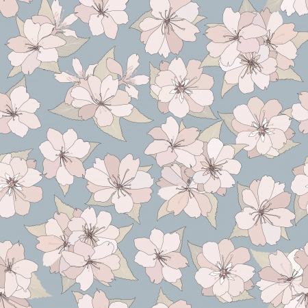 Flower seamless background  Spring floral pattern  Nature texture Stock Vector - 25546084