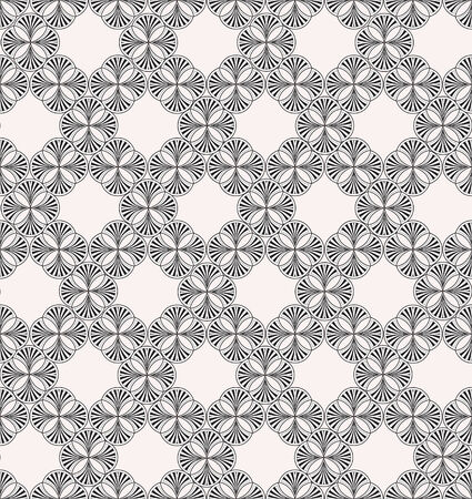 Oriental geometric pattern  Abstract vector textured seamless backgrounds for scrapbook   Vector