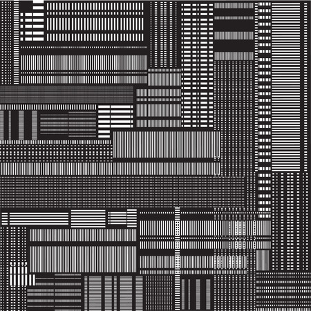 urban sprawl: Abstract texture.  Seamless pattern in techno style