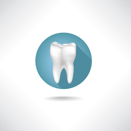 tooth paste: Dental icon Illustration