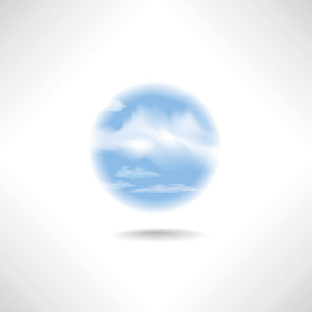 icloud: Cloud icon. i-cloud button Illustration