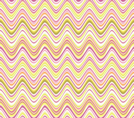 Wave pattern in art style. Abstract seamless wave vector textured background for scrapbook. Illustration