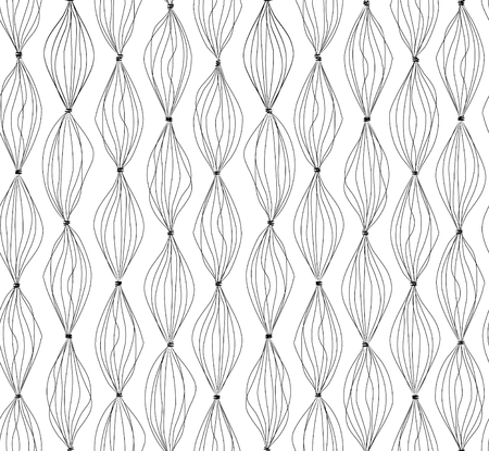 tarnish: Abstract lines background.Geometric dot lined seamless pattern. Striped texture. Black and white structure