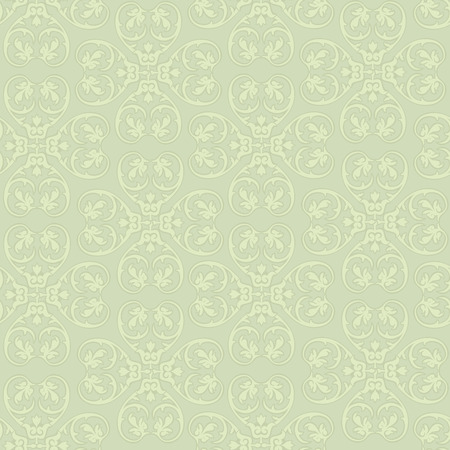 Floral seamless background. Decorative floirish pattern. Floral seamless damask texture. Vector