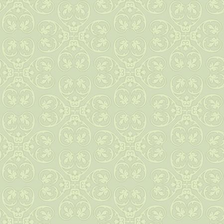Floral seamless background. Decorative floirish pattern. Floral seamless damask texture. Vector