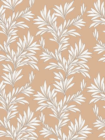 japanese motif: Leaves pattern. Leaf seamless backgound. Illustration