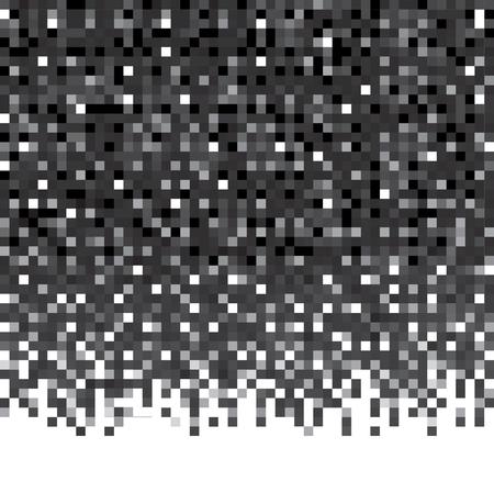 Pixel pattern. Abstract geometric seamless background.