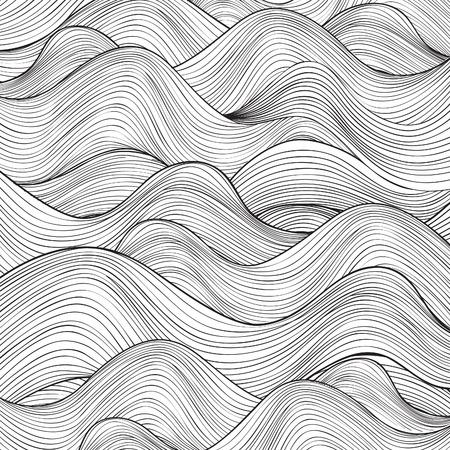 Wzór fali. Geometryczne tekstury. Streszczenie tle.