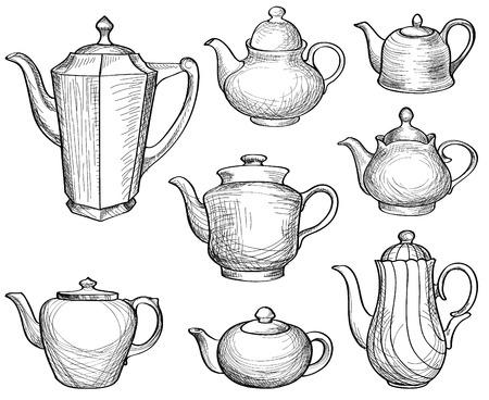cocina antigua: Colección Teteras