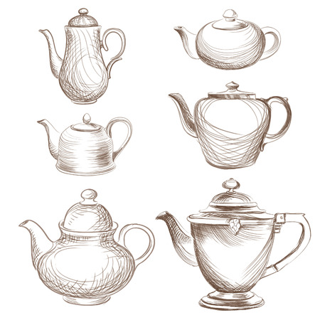 teatime: Teapots collection