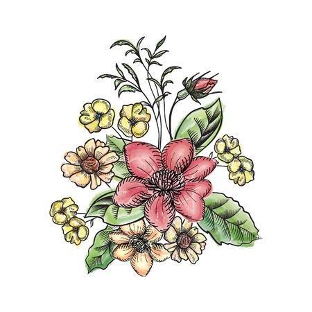 flower bouquet: Bloem boeket