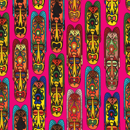 Abstract vintage ethnic pattern Vector