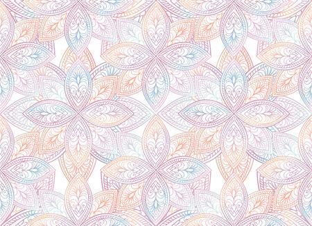 motif floral: Résumé texture seamless floral. Orientale ornement géométrique. Festive background. Illustration