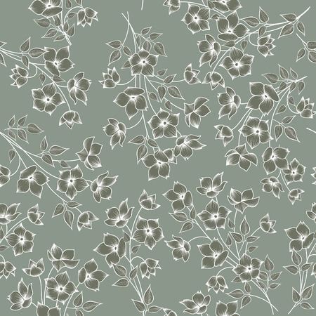 floral pattern motif: Floral seamless pattern. Flower background. Floral seamless texture with flowers.