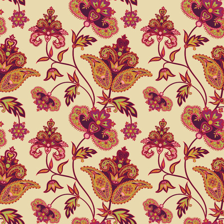 background flower: Floral seamless pattern. Abstract flower background. Floral seamless texture with flowers in oriental style.