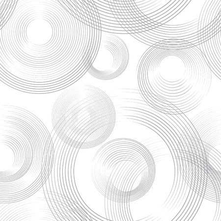 Abastract geometric seamless pattern. Bubble ornamental background. Circles.