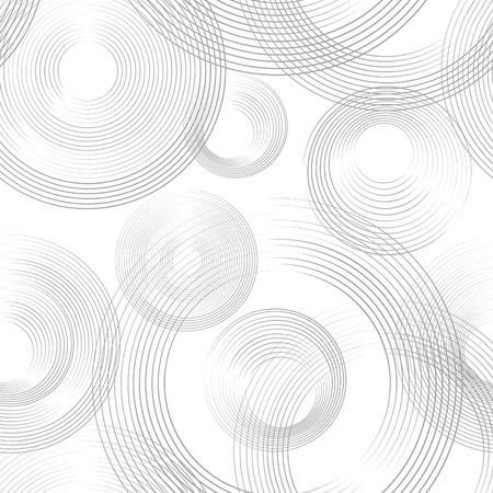 Abastract geometric seamless pattern. Bubble ornamental background. Circles.