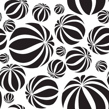 pattern geometric: Abastract geometric  seamless pattern. Circle grid texture for wallpaper, surface or cover. Black and white background. Abstraction wallpaper Illustration