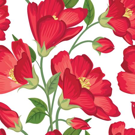 Floral seamless pattern. Fleur de fond. Seamless texture floral avec des fleurs.