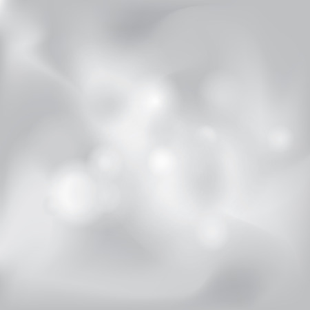 Abstract white and gray smoky background subtle chrome metal texture