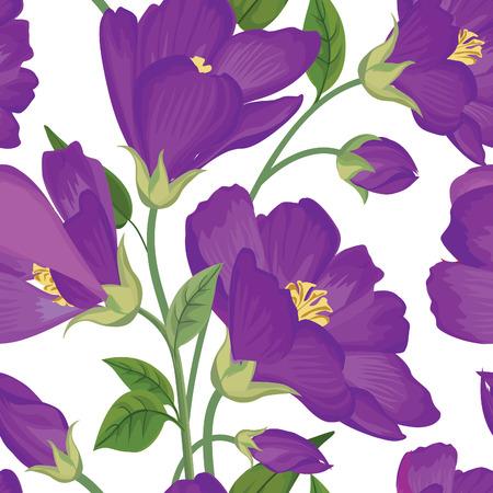 Modelo inconsútil floral. Fondo de la flor. Textura inconsútil floral con flores.