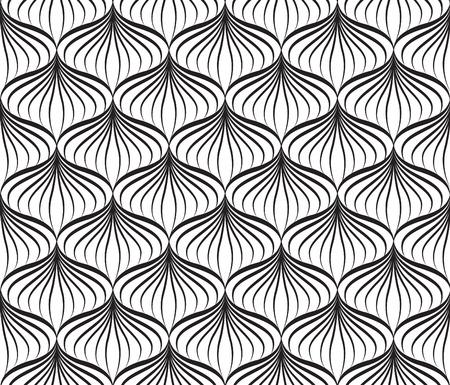 Abstact vector seamless floreale orientale linea geometrica trama Elegante sfondo astratto ornamentali Vettoriali