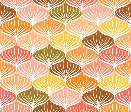 Abstact Vektor nahtlose Muster Floral orientalischen geometrische Linie Textur Stilvolle abstrakte ornamentalen Hintergrund