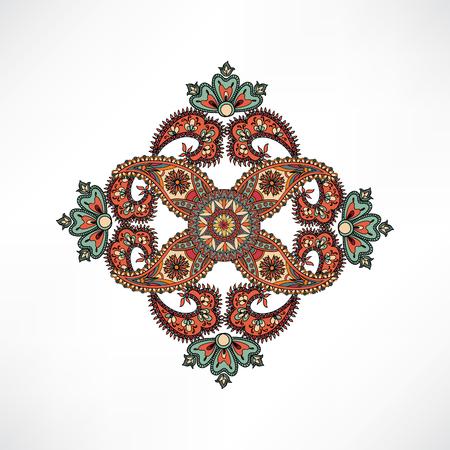 florale: Maßwerk von Mandalas für Textil. Arabisch Ornament Hintergrund Oriental Mandala ethnische Amulett Abstact floral geometrische Muster Geometrische Kreis-Element für Urlaub, Kaleidoskop, Medaillon, Yoga, Indien, arabisches Design
