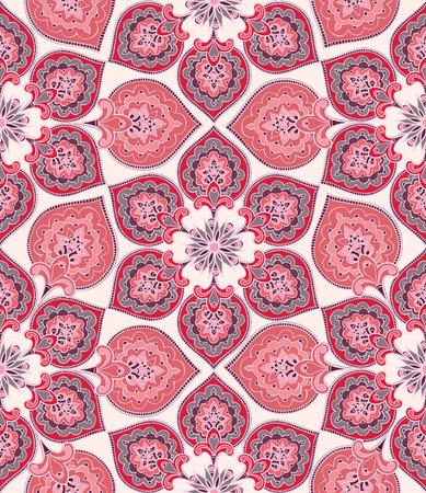 Bloemen naadloos patroon. Bloem achtergrond. Bloemen naadloze textuur met bloemen. Floreren betegelde oosterse etnische wallpaper Stockfoto - 56201727