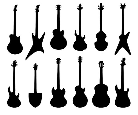 5813 Rock Band Silhouette Stock Vector Illustration And Royalty