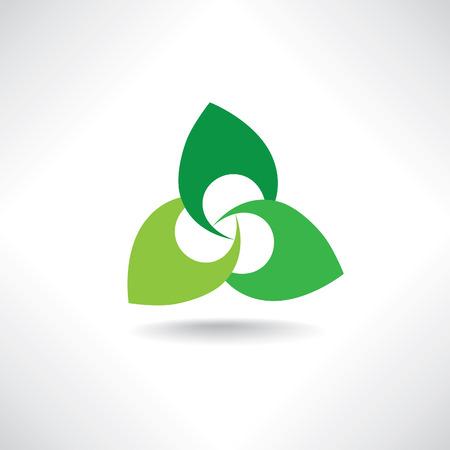 Floral logo for beauty salon, cosmetics, spa, health design. Vector flower insignia. Morden design floral icon.
