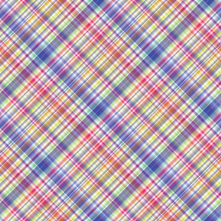 checkered pattern: Bright seamless checkered pattern Tartan diagonal ornament Illustration