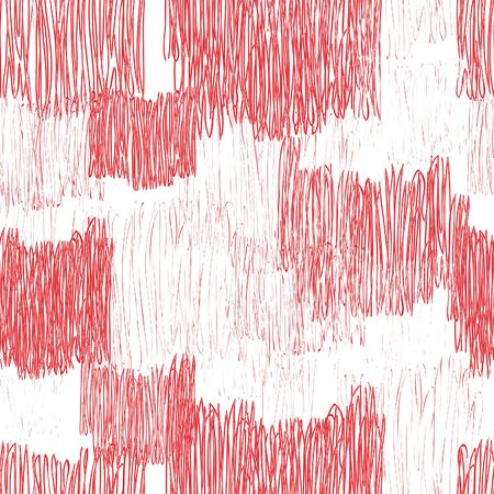 stripped background: Abstract geometric seamless pattern. Color pencil drawing line texture Stylish abstract ornamental  stripped background Illustration