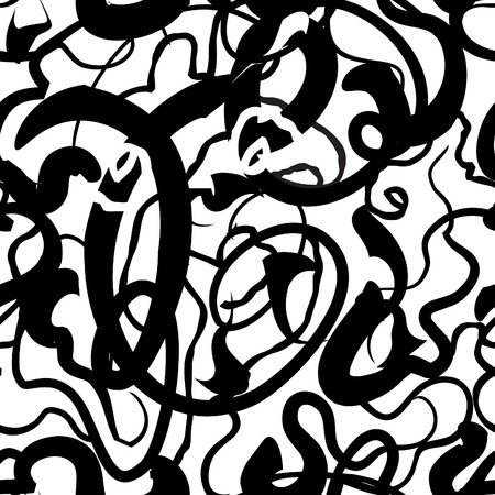 Abstract line vector seamless pattern. Chaotic lines background Use it for pattern fills, desktop wallpaper, surface texture, web page background, textile