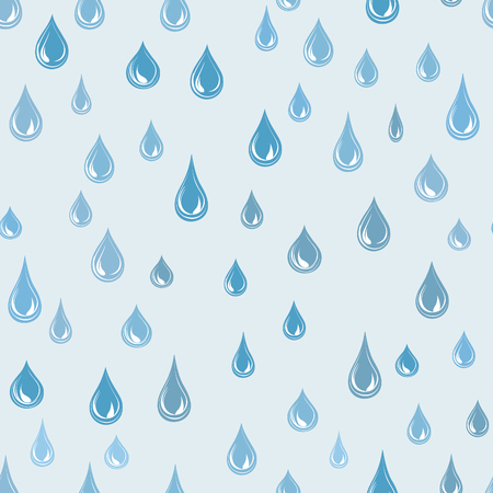 raindrops: Raindrop background. Rainstorm Seamless Pattern. Rainy weather ornament. Water drops tiled wallpaper