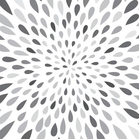waterdrop: Abstract firework splash dot pattern. Swirl floral petal texture. Water-drop spot ornament. Ornamental wave background.