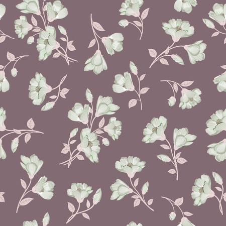 the petal: Floral pattern. Flower seamless background. Flourish ornamental garden