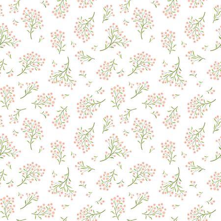 flower patterns: Floral white pattern. Flower seamless background. Flourish ornamental garden