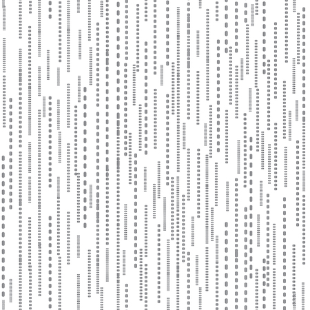 Abstract line dot seamless white pattern. Stripped tile texture