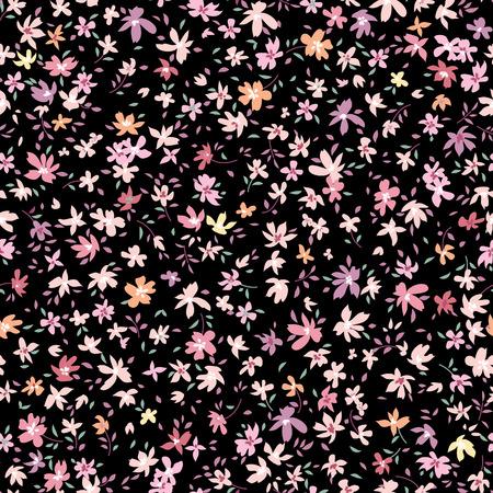 Naadloze bloemmotief. Bloem achtergrond. Abstracte sier bloeien behang met bloemen.